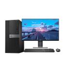 全新 戴尔Dell 7070MT 办公台式机(i7-9700/8GB/128GB SSD+1TB/P2719H/27