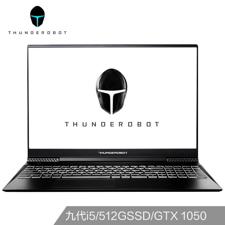 雷神(ThundeRobot)911Air星战二代 15.6英寸窄边框游戏笔记本电脑(九代i5-9300H 8G 512GSSD GTX1050)