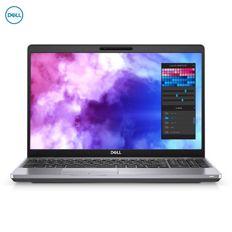 戴尔(DELL)Precision3541 15.6英寸移动图形工作站笔记本I5-9300H/8G/256G固态+1T/P620 4G/100%sRGB/雷电3