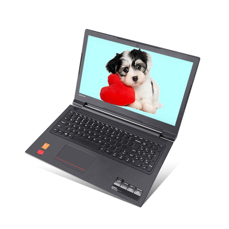 联想(Lenovo)扬天V110 15.6英寸带光驱学生轻薄商务办公手提笔记本电脑 定制【N3350/4G/256G固态】 内置光驱 玛瑙黑