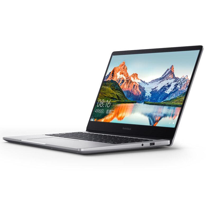 RedmiBook 14英寸全金属超轻薄(第八代英特尔酷睿i7-8565U 8G 512G SSD MX250 2G独显 Office 支持手环疾速解锁 Win10) 游戏 银色 笔记本 小米 红米