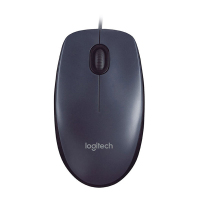 全新 罗技Logitech M90有线鼠标-艾特租电脑租赁平台